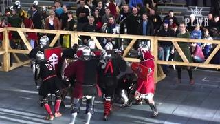 Battle of the Nations / PSWR - Brutal Medieval Knockout in Slow Motion!