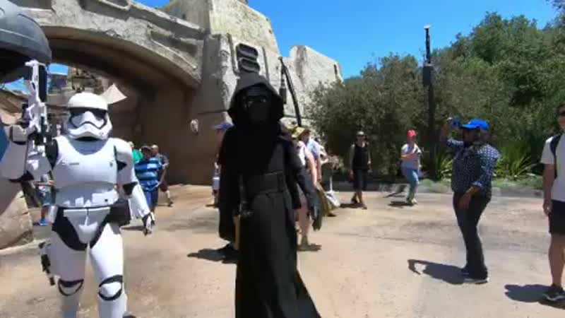 Encounter with Kylo Ren at the Black Spire Outpost