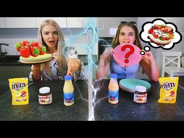Телепатия ТОРТ Челлендж 😱 УГАДАЙ Если Сможешь Twin Telepathy Cake Challenge Алиса Лисова и Лиза