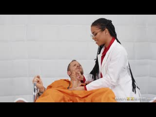 Kira noir jailhouse fuck 4 (blowjob, black hair, ebony, doctor, nurse, natural