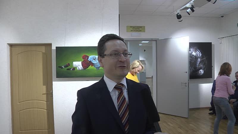 Интервью с VIP гостем выставки 1 ым зам председателя ГосКомитета по предпринимательству и туризму РБ И А Махмудовым