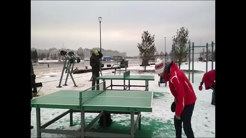 Зимний Пинг понг