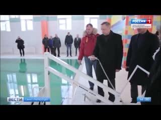 """Фрагмент репортажа программы """"Вести"""" телеканала """"Россия 1"""""""