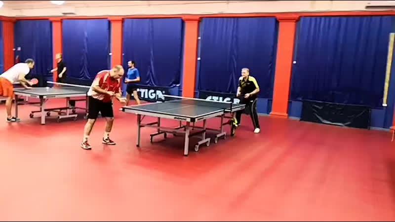 Стрижанов Демяшин турнир ttplayspb по настольному теннису