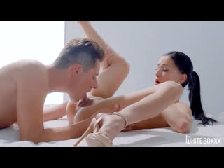 Nicole love passion sex in bed [brunette, natural tits, high heels, hardcore, masturbate, pussy licking, orgasm, fingering]