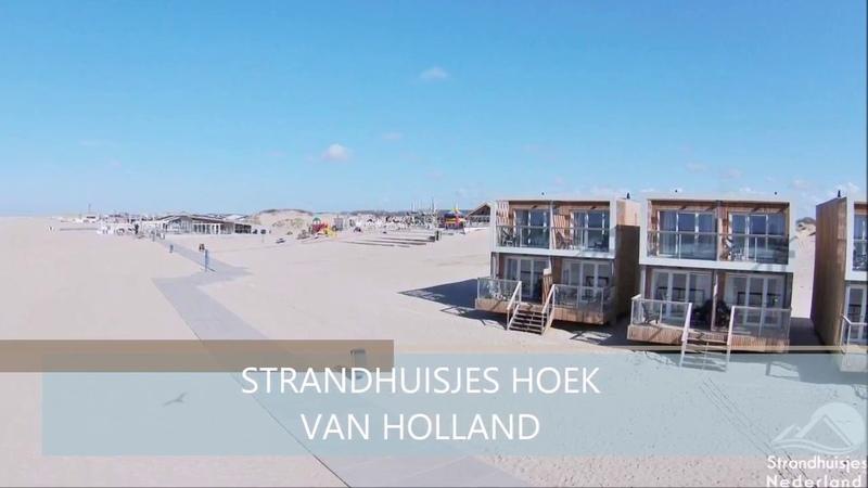 STRANDHUISJES HOEK VAN HOLLAND door Strandhuisjes Nederland™