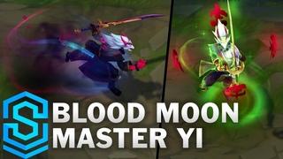 Blood Moon Master Yi Skin Spotlight - Pre-Release - League of Legends