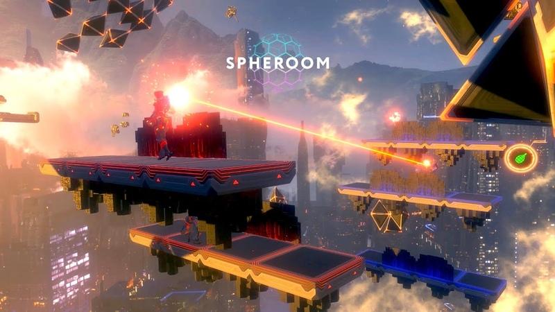 VR игра Spheroom от студии Arcadia виртуальная реальность нового поколения