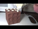 How I made a functional CHOCOLATE Rubik's Cube edible puzzle by Tony Fisher for Easter