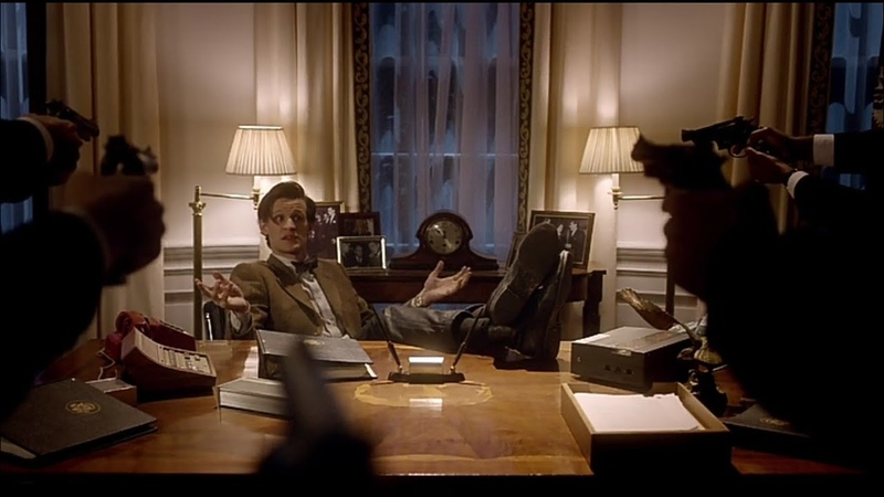 11 Доктор в Белом доме Доктор Кто
