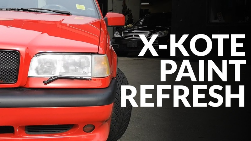 25 Year Old Paint Revival - Red Volvo 850R Wagon