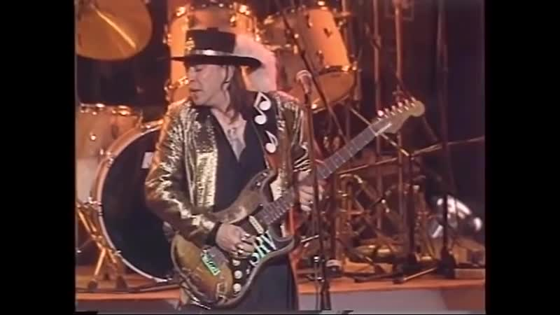 Stevie Ray Vaughan The American Caravan Lonnie Mack 1986