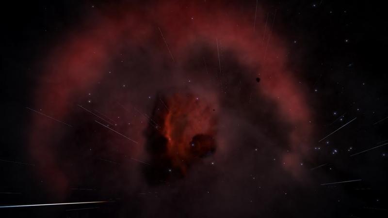 Elite Dangerous Туманность Петля Барнарда Barnard's loop nebula *4*