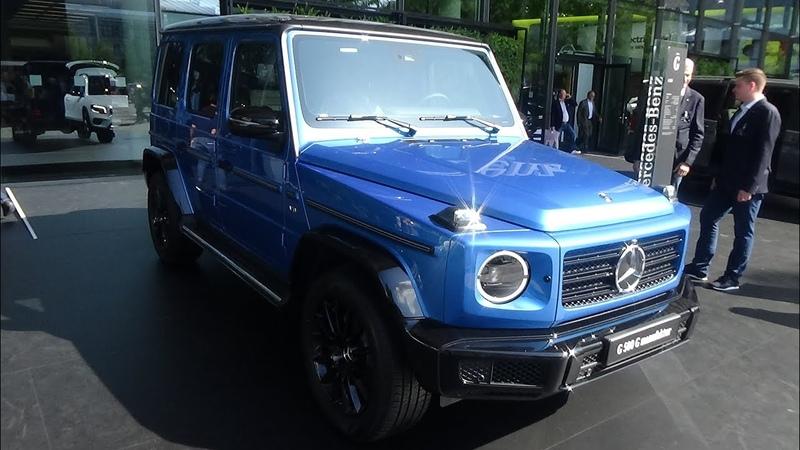 2020 Mercedes-Benz G 500 G manufaktur - Exterior and Interior - IAA Frankfurt 2019