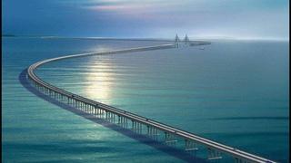 Китайцы творят чудеса   Мост в Ханчжоу   Самый длинный мост в Мире