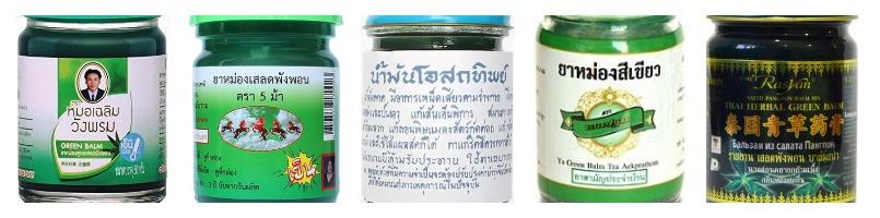 тайский зелены бальзам фото