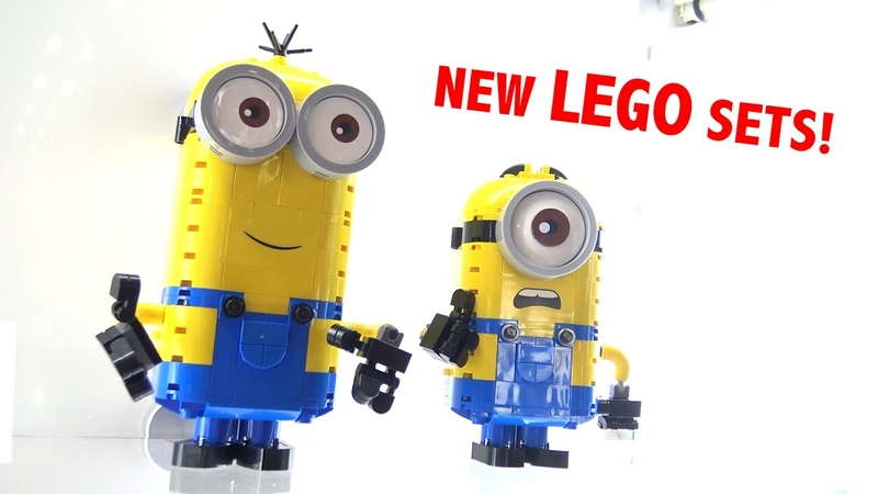 Hands On With New LEGO Minions Sets | New York Toy Fair 2020