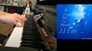 林俊傑 JJ Lin 不為誰而作的歌 Twilight Piano Cover 鋼琴版