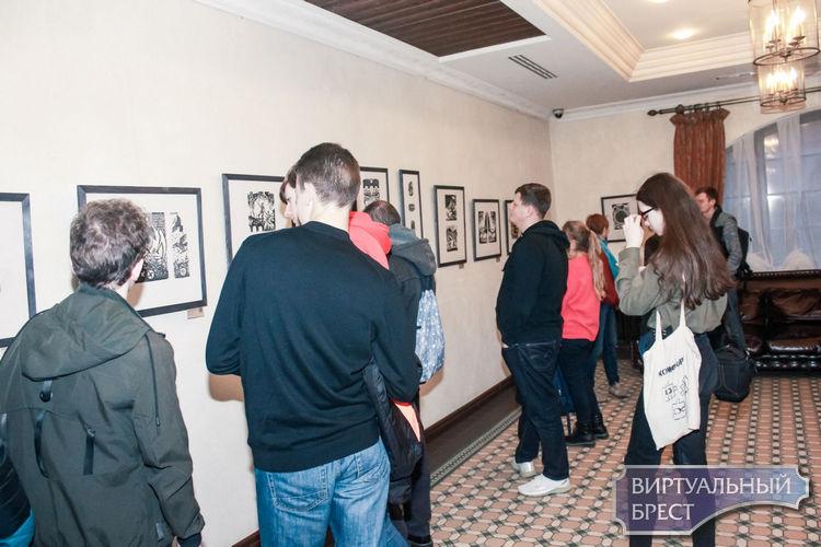С выставкой гравюр Юлии Романюк «Знак Настоящего» можно ознакомиться в Бресте