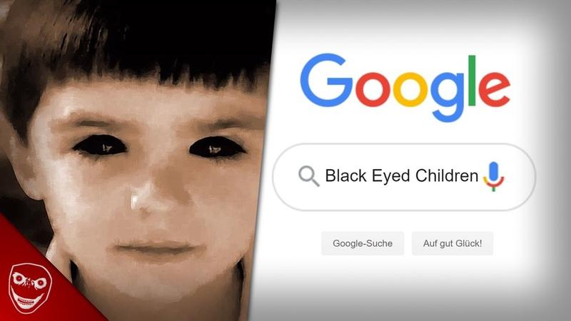 Google NIEMALS die Worte Black Eyed Children Gruselige Internet Legende