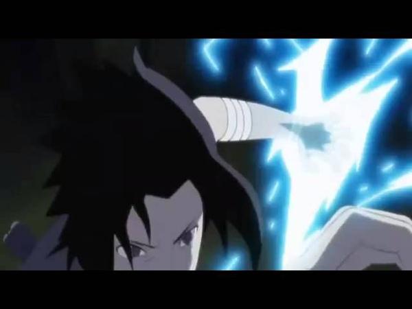 Itachi vs Sasuke Full Fight English Dub)