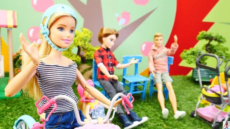 Los vecinos de Barbie y Ken. Vídeos de muñecas. Vídeos para niñas