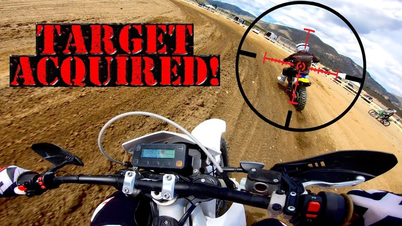 Hunting 4-Strokes on an ELECTRIC DIRT BIKE! *Alta Redshift*