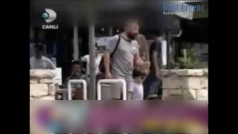 Халит, Бергюзар и Али в районе Этилер. 28.07.2012 (с русскими субтитрами)