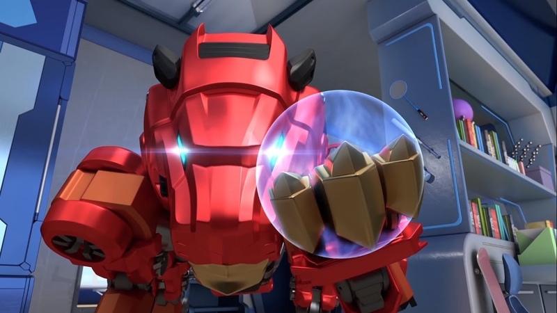 Металионы |Metalions|– Новый домашний робот – мультфильм про трансформеров