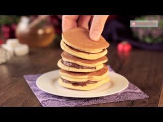 Американские блины - научитесь готовить самые пышные панкейки!