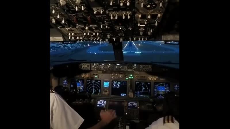 Посадка Boeing 737-800 в аэропорту Форталезы