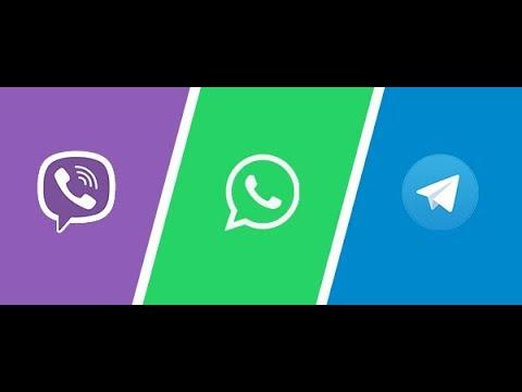 Как взять ссылку на вайбер ватсап телеграм