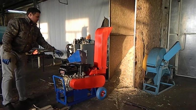 Видео-отчет о работе Утилизатор У350 (Мод.Термит) с бензиновым ДВС 15 л.с