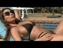 Anissa Kate Porn Star Sexy Brunette Sunbathes to the Best Hot Music