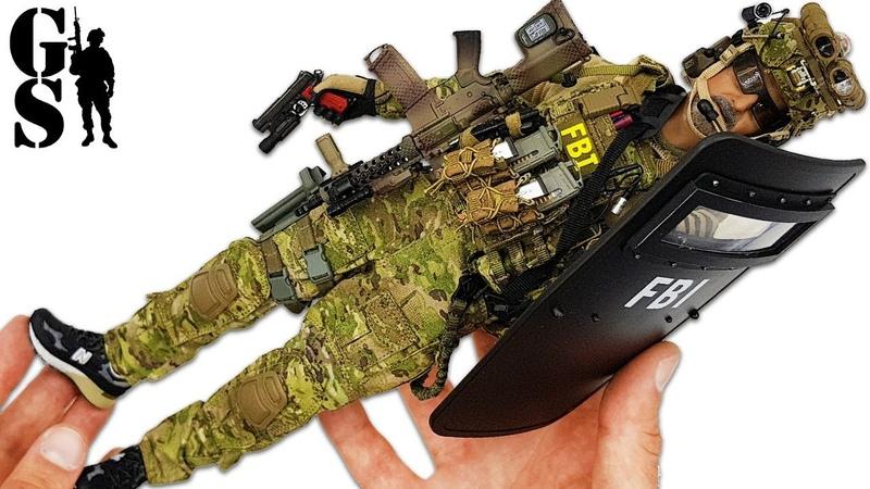 Спецназ США: Агент ФБР Hostage Resque Team - фигурка в масштабе 1/6 от DamToys