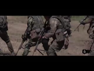 Crazy Training of Russian Special Forces With Machine Guns