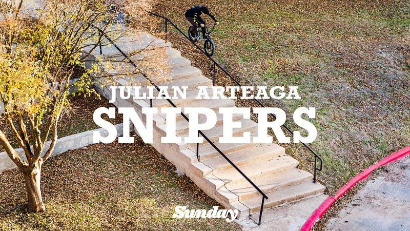 JULIAN ARTEAGA   Sunday Bikes - Snipers   BMX