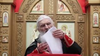 Схиигумен Сергий: Кто посягает на закрытие храмов - анафема