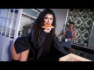 Marina Maya - Late Date - Blowjob, Brunette, Latex, Natural Tits, Sex Toys Indian, Порно