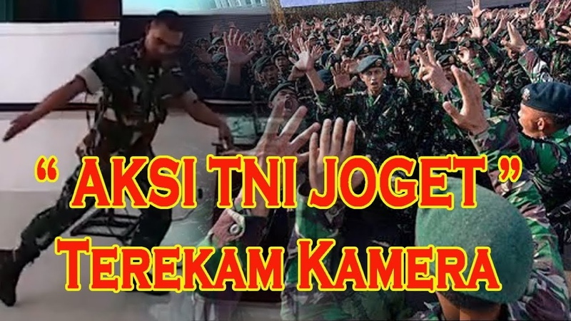 VIDEO AKSI TNI JOGET Saat Santai Disela Sela Tugas Terekam Kamera