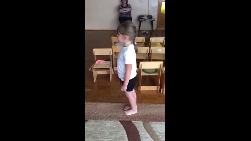 Комплекс упражнений на профилактику нарушений плоскостопия для детей среднего возраста