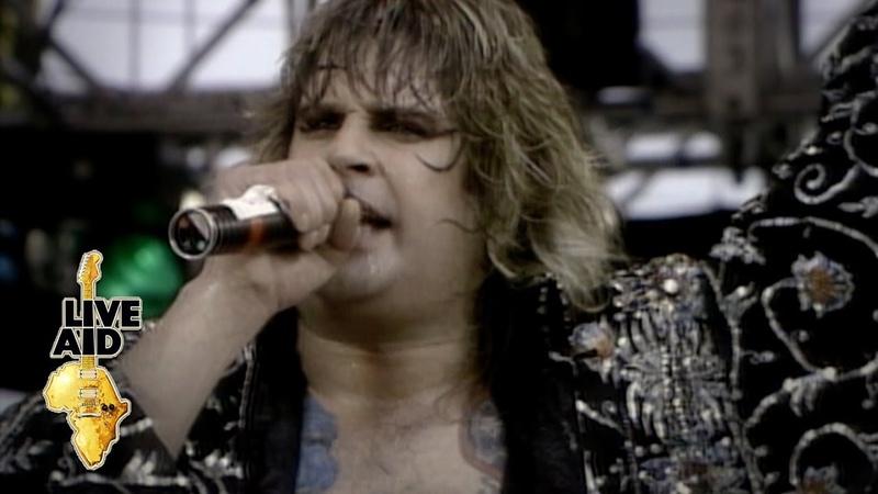 Black Sabbath feat Ozzy Osbourne Paranoid Live Aid 1985