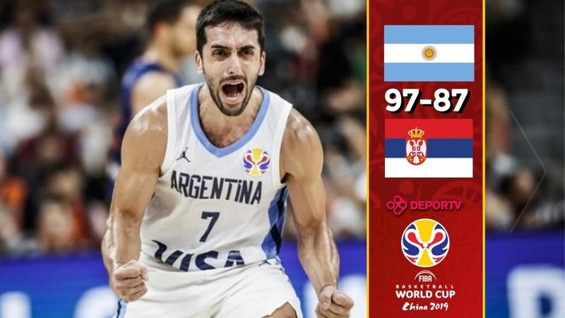 Argentina - Serbia - Highlights - Quarter-Final - FIBA Basketball World Cup 2019. Кубок Чемпионат мира ФИБА. 14 финала. Обзор. Аргентина - Сербия