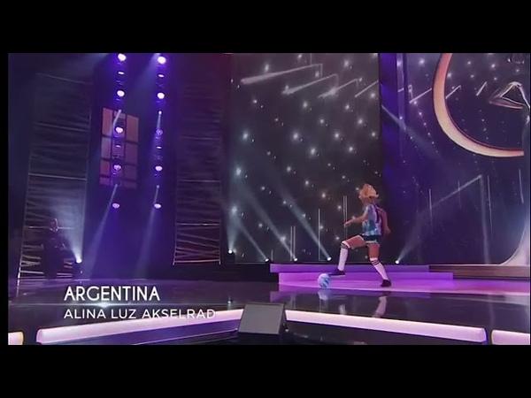 Traje Típico de Alina Akselrad Mis Argentina
