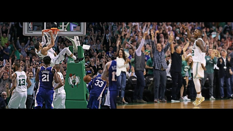 Boston Celtics 22 Point Comeback vs Philadelphia 76ers (2018 ECSF Game 2) - NBA Full Highlights HD