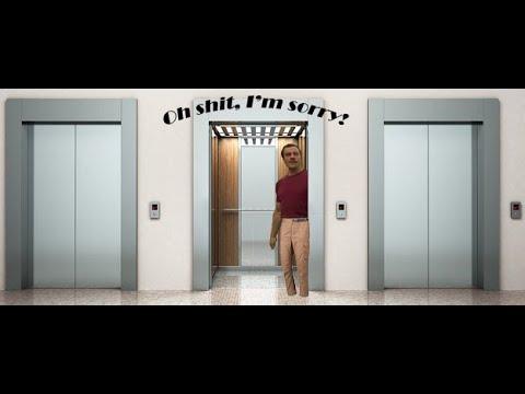 Пранк в лифте во главе с Van Darkholme Смотреть всем неравнодушным