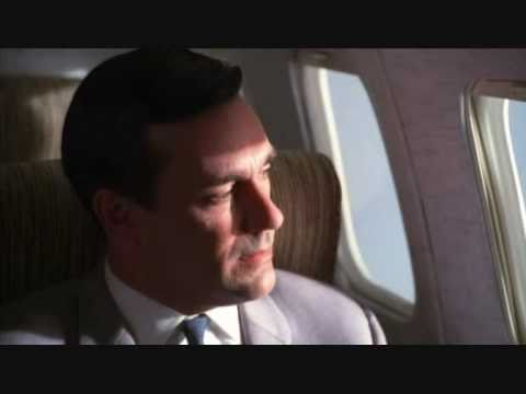 Mad Men Don Draper on a plane The Tornados Telstar