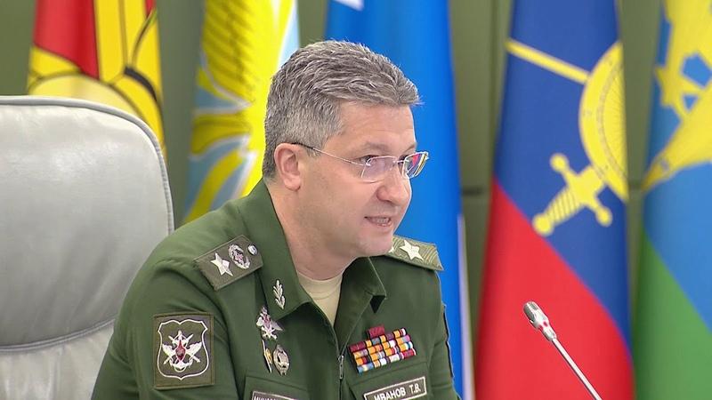 О строительстве военных госпиталей замминистра обороны РФ Тимур Иванов