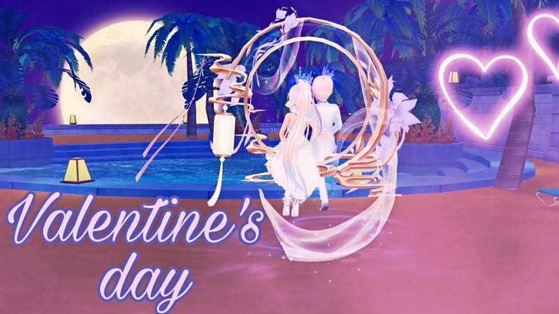 Happy Valentine's Day Sweet Dance Ru