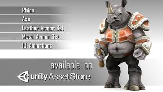 Rhino Unit Asset
